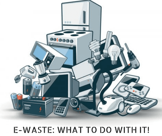 items considered to be e-waste