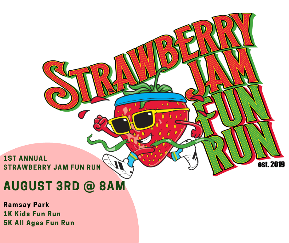 Strawberry Jam Fun Run - News Flash post
