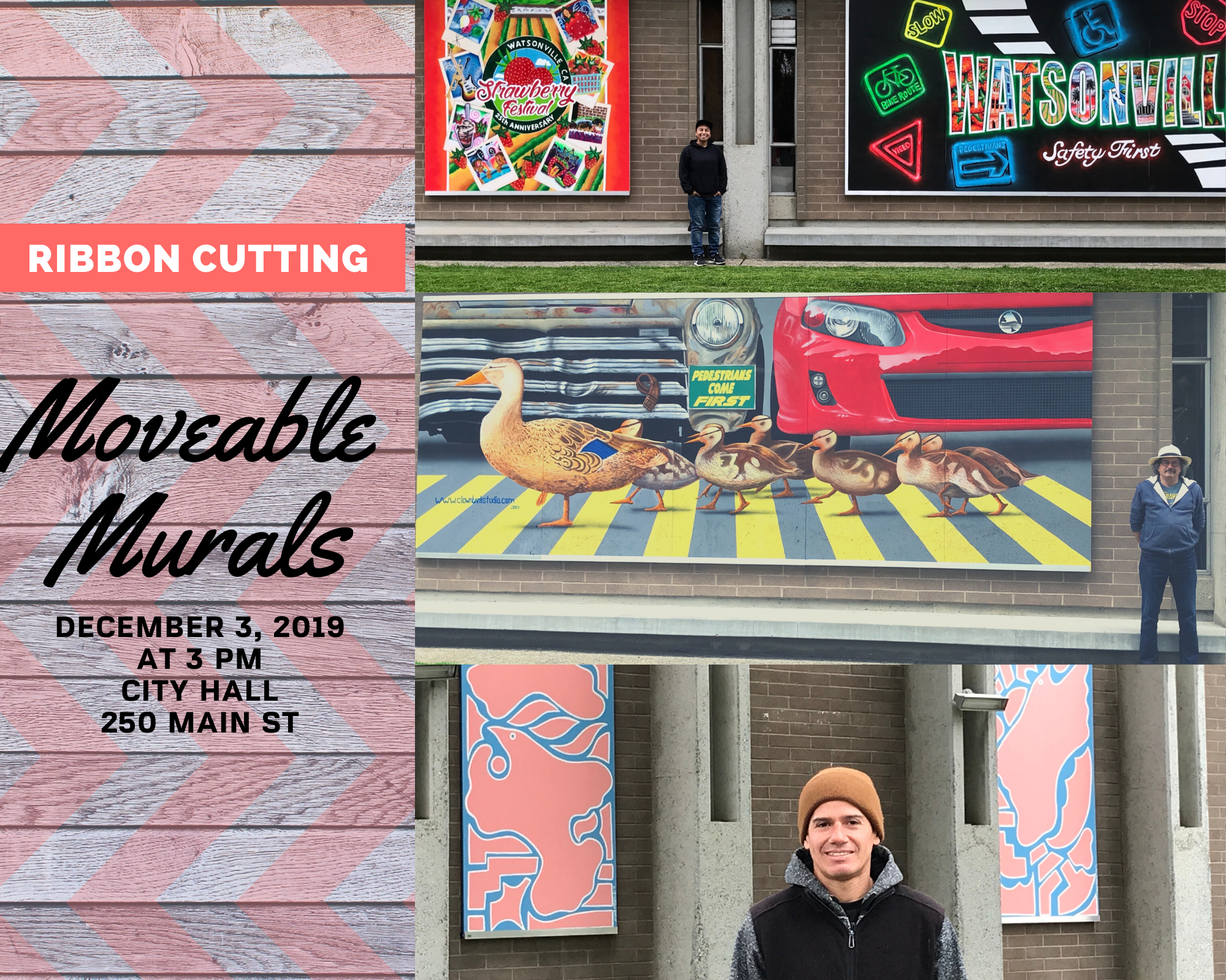 Moveable Murals Ribbon Cutting