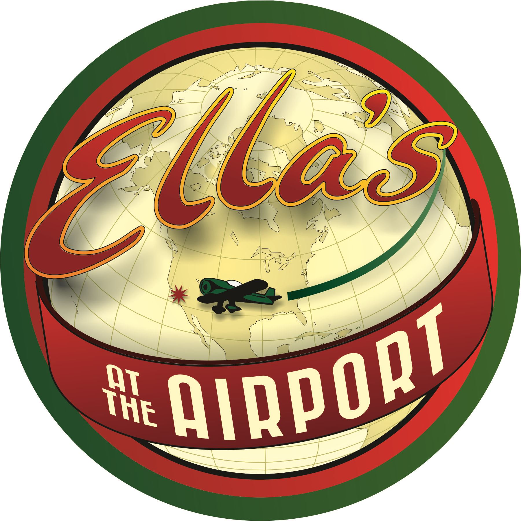 Ella's at the Airport Logo