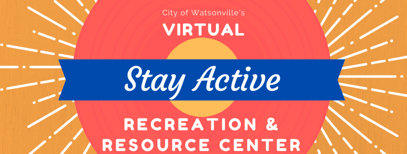 Virtual Rec Center - Stay Active Banner