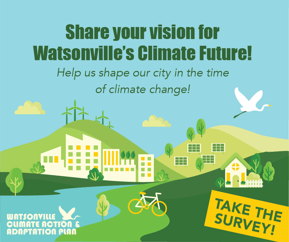 Take the Climate Action & Adaptation Plan Survey!