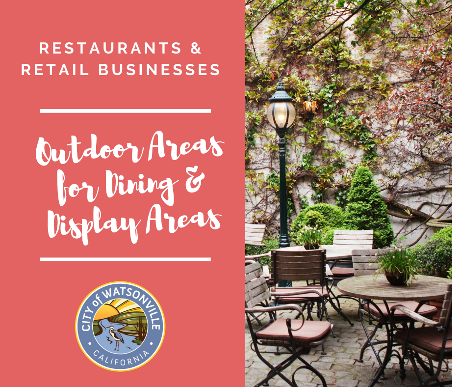 Restaurants_Retail Businesses Use of Outdoor Areas for Dining_Display Areas