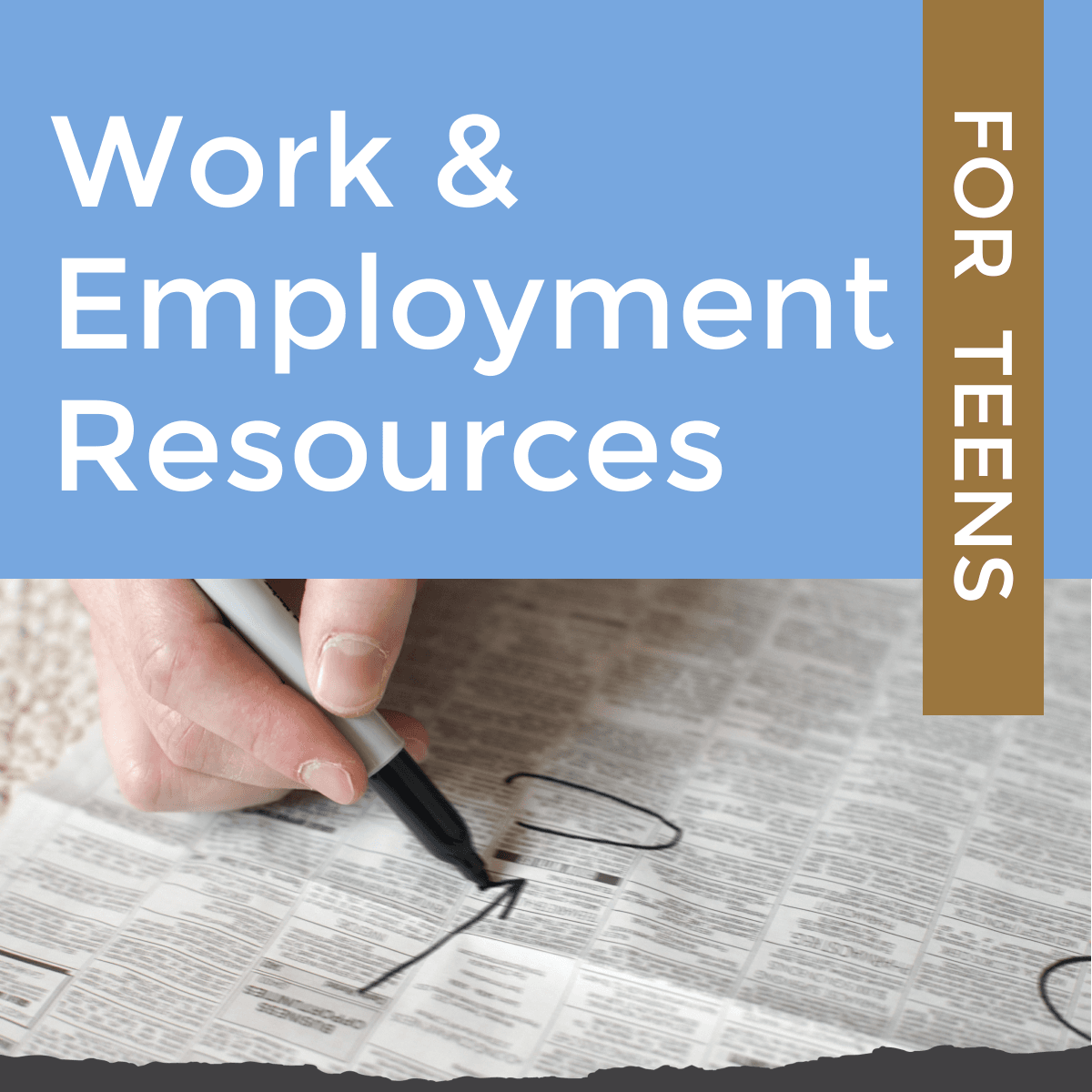 work and employment resources for teens