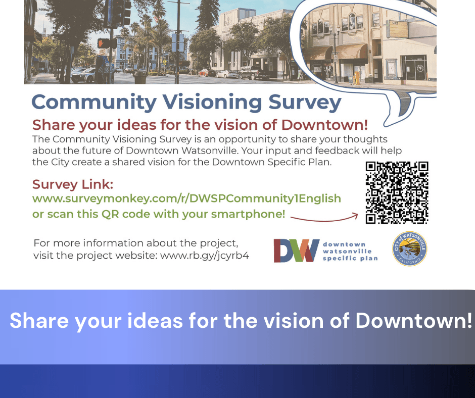 Share your ideas for the vision of Downtown!