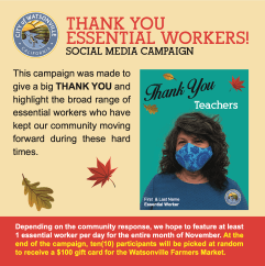 Essential Workers_Thank you  Campaign