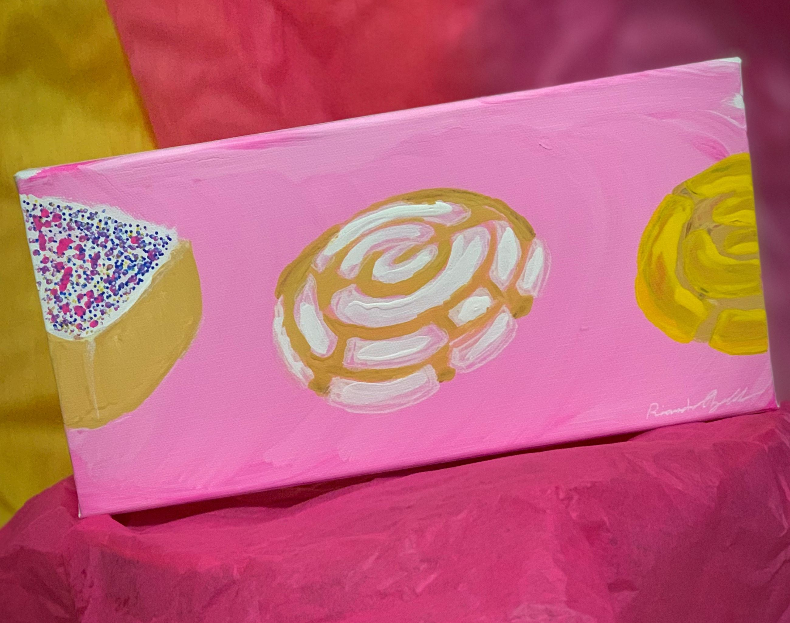 painting of pan dulce
