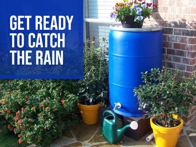 Get ready to catch the rain