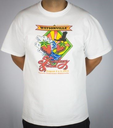 20th Anniversary logo white t-shirt