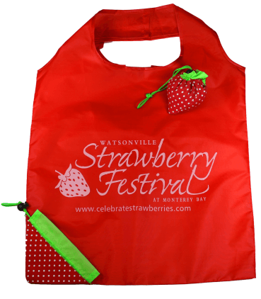 Strawberry Festival shopping bag