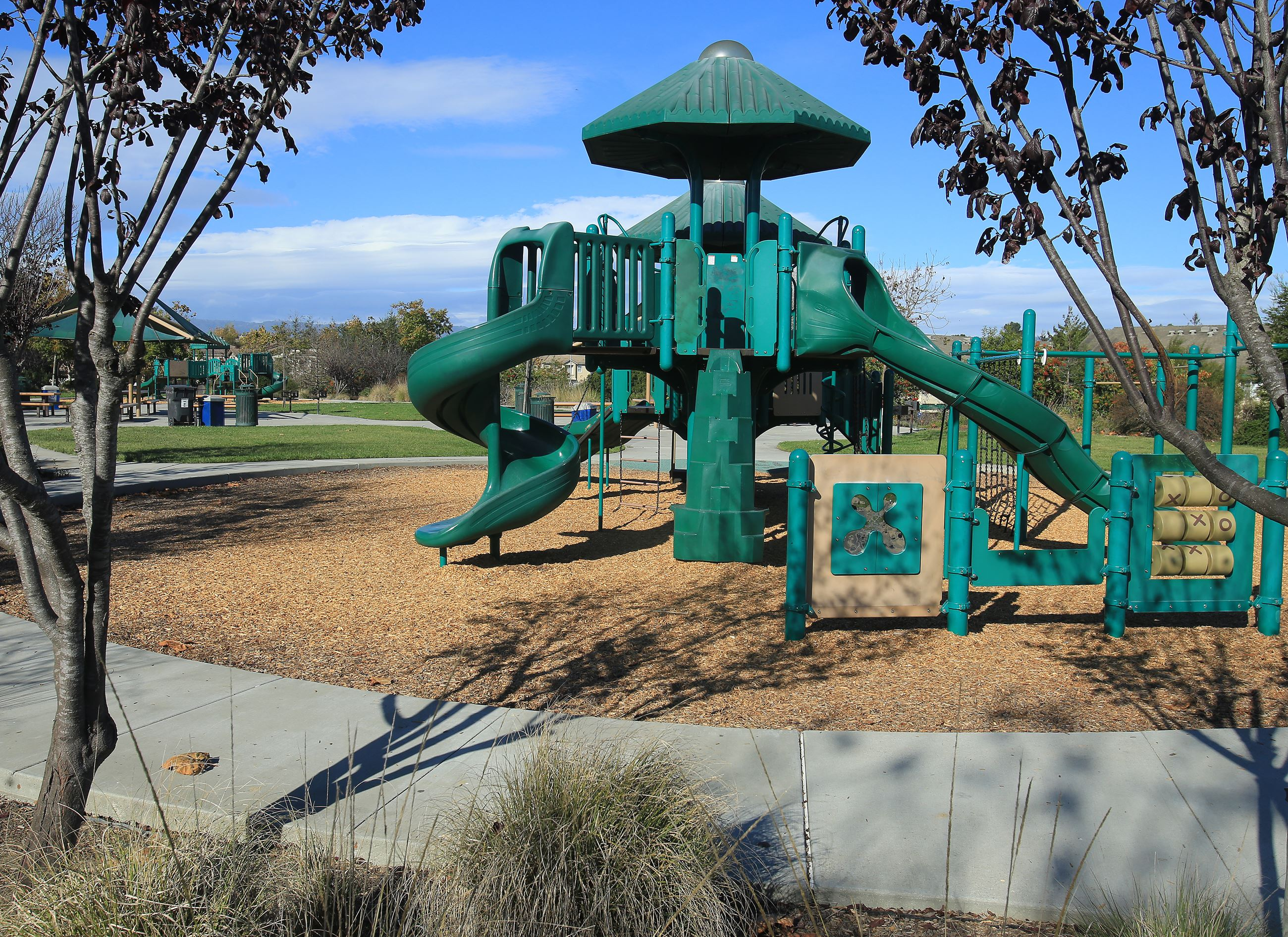 Sea View park playground structure