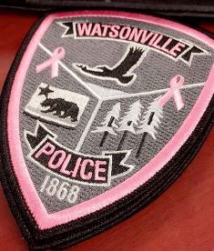 Pink Patch  Watsonville PD