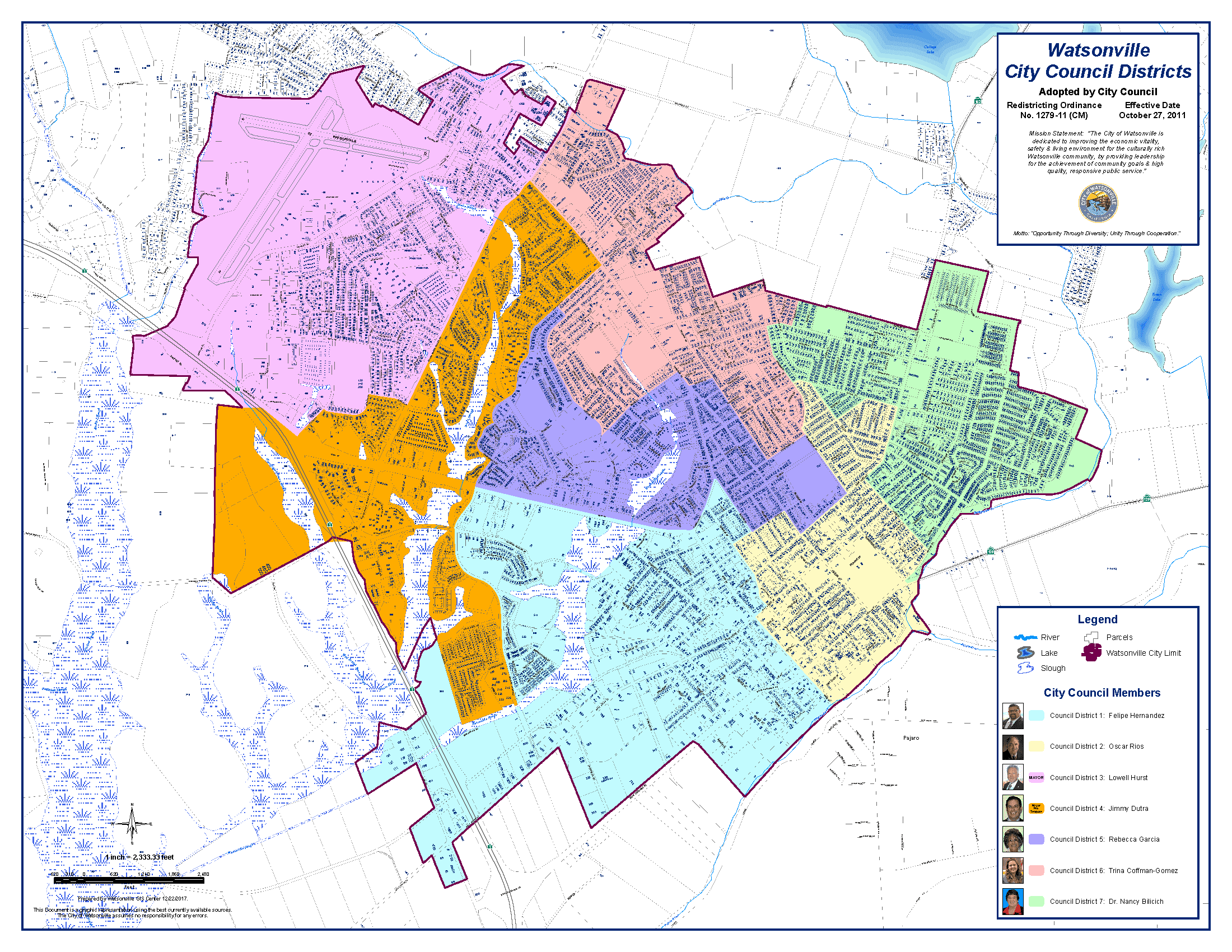 Council Districts 2018