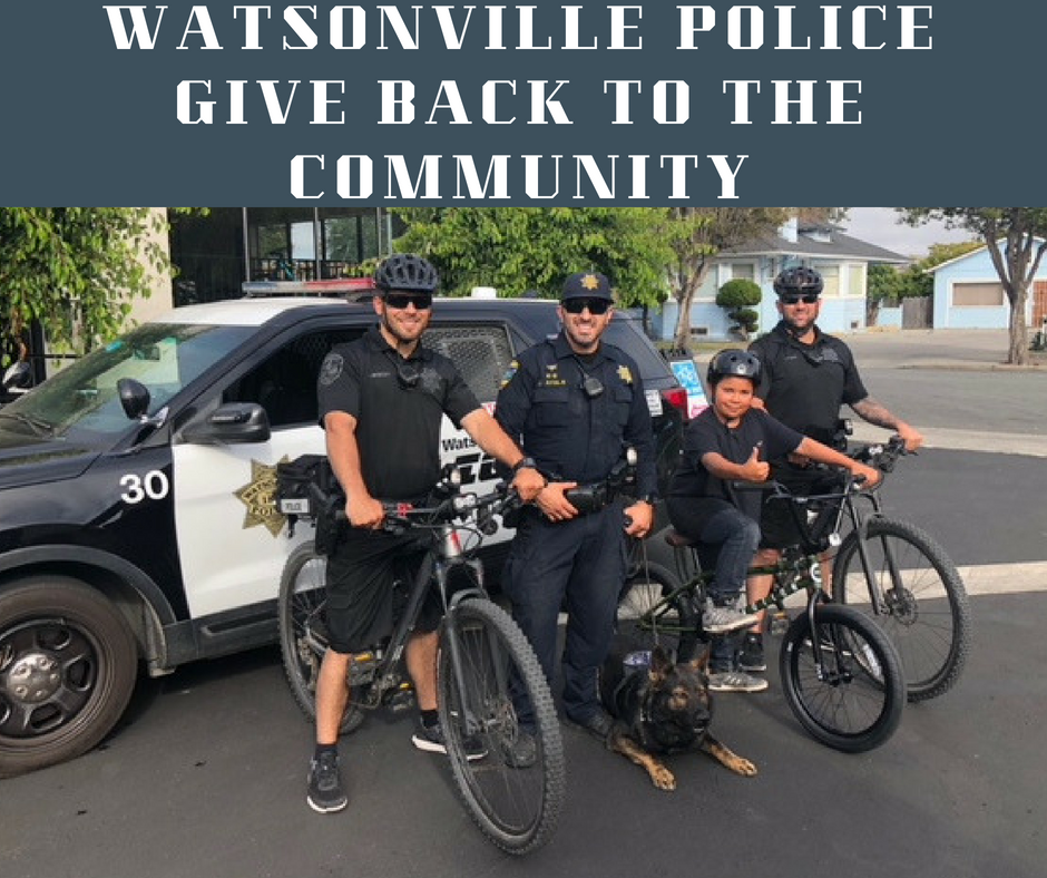 Watsonville Police Give Back 2