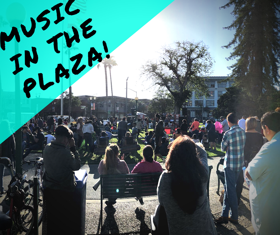 music in the plaza