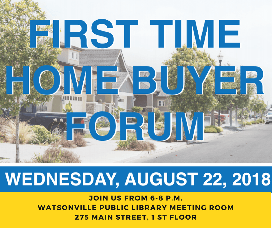 first time home buyer forum