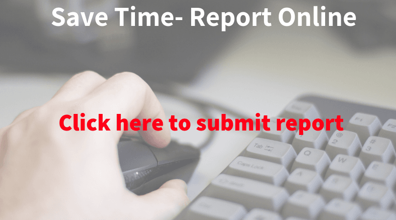 NEW Save time- report online
