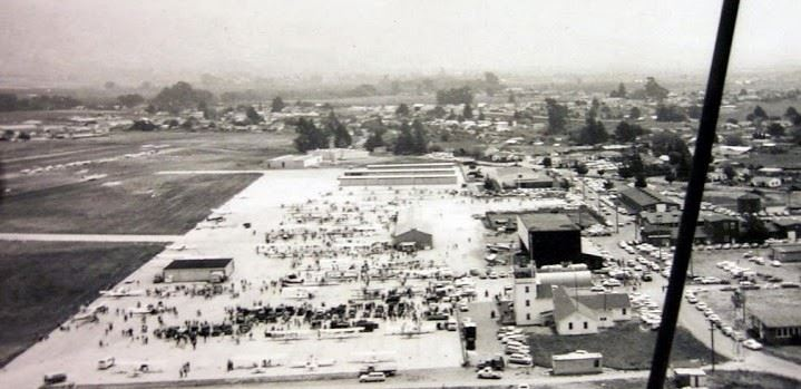 1965 Fly-In Aerial Photo Taken From 1929 Waco